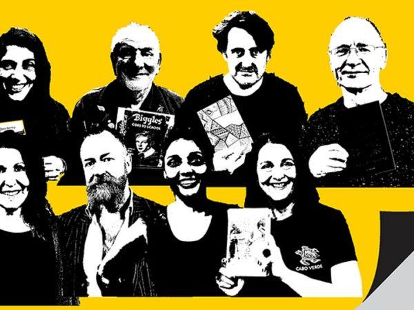 Book Week Scotland 2019, Podcast Header Image (Scottish Book Trust)