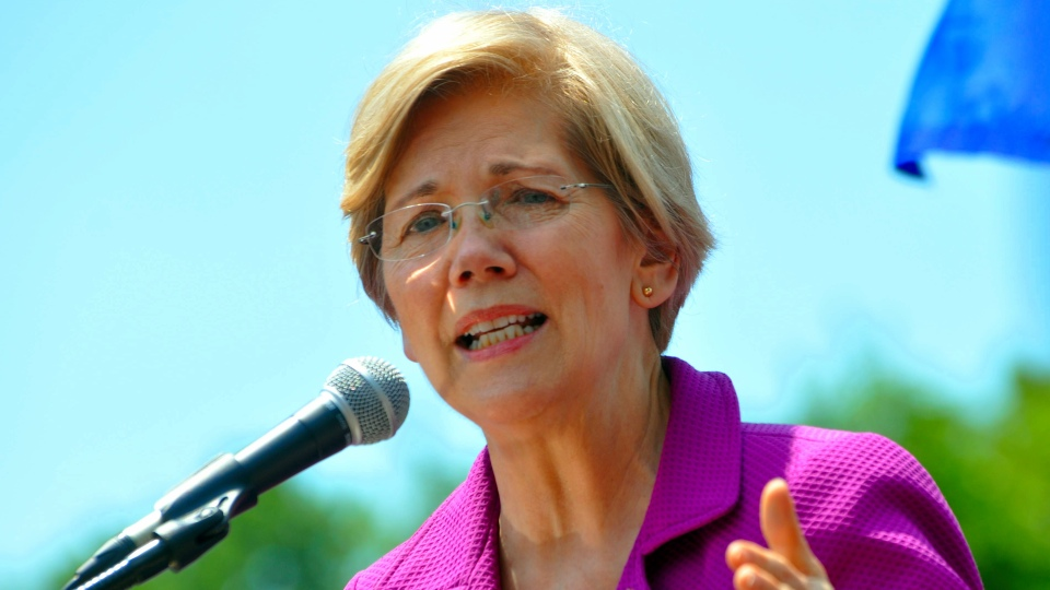 Senator Elizabeth Warren (Photo: Edward Kimmel/Wikimedia)