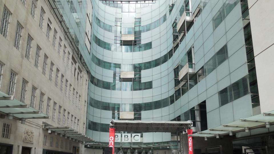 BBC New Broadcasting House ( Copyright Paul Gillett and licensed for reuse under Creative Commons Licence.)