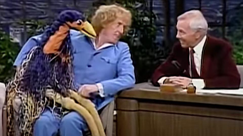 Rod Hull and Emu on the Tonight Show (via YouTube)